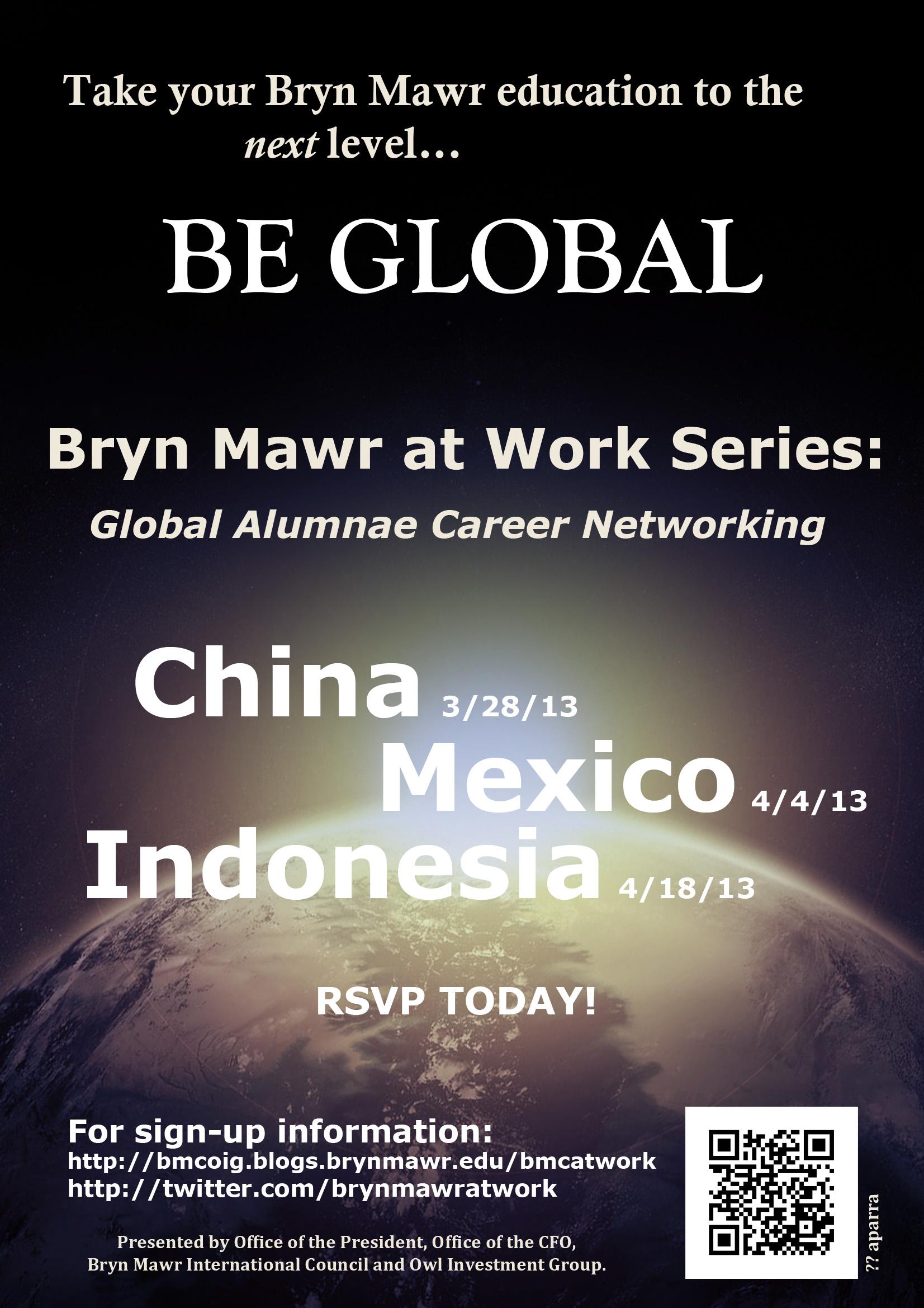 Bryn Mawr at Work Series