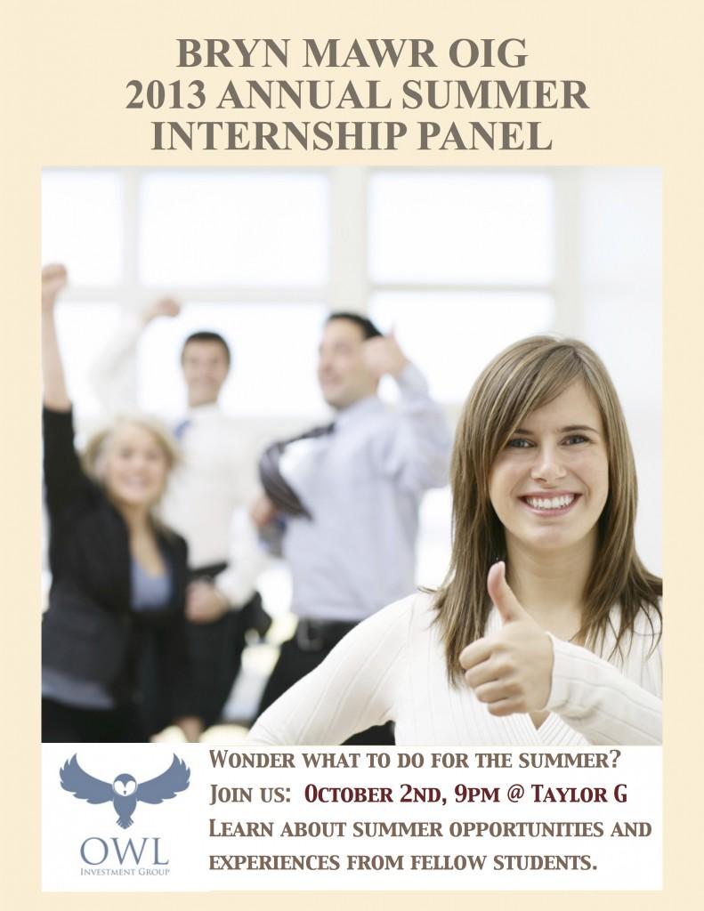 Summer Internship Panel_3